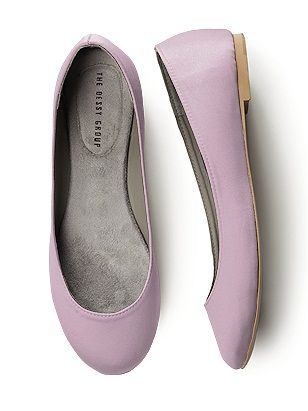 I Want One In Every Color Satin Ballet Flats
