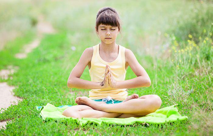Image result for sukhasana pose kids