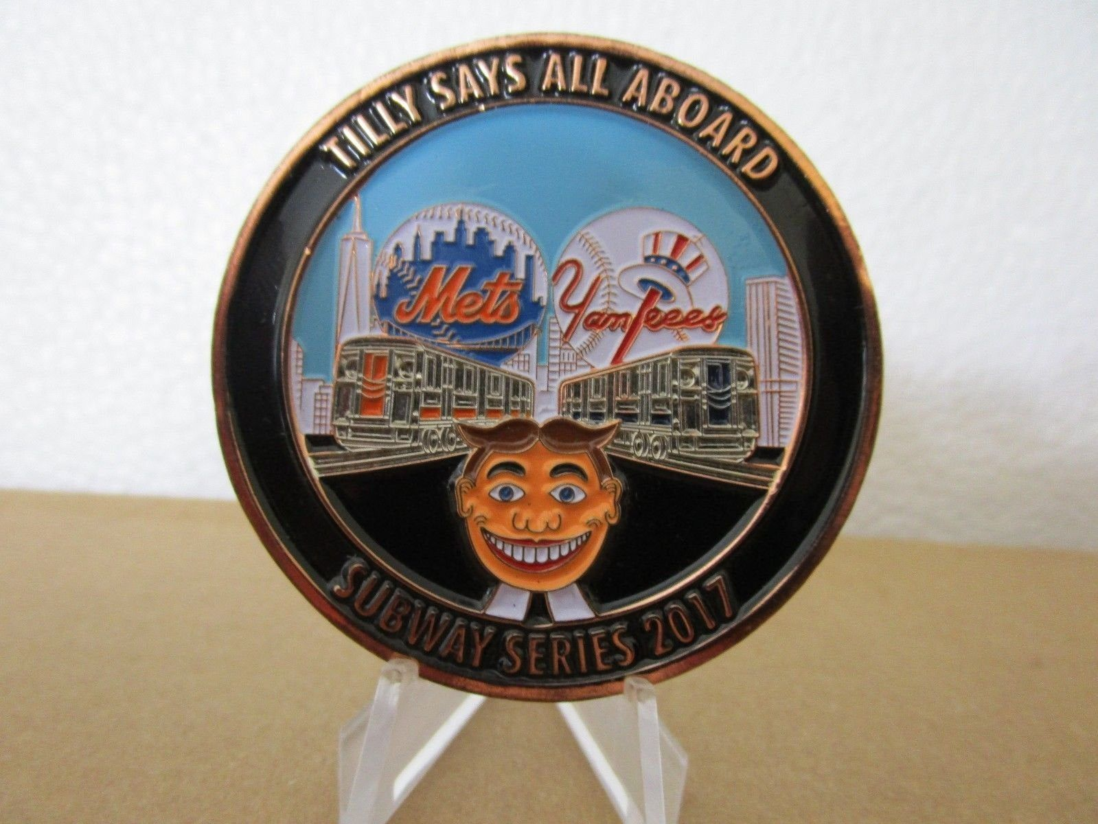 Pin On New York Mets Challenge Coins
