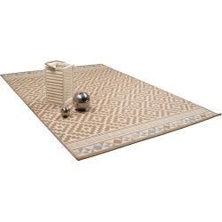 benuta Plus In- & Outdoor-Teppich Capri Braun 80×150 cm – für Balkon, Terrasse & Gartenbenuta.de