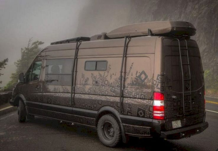 9836d64ac9c The Best 4x4 Mercedes Sprinter Hacks, Remodel and Conversion (86 Ideas)