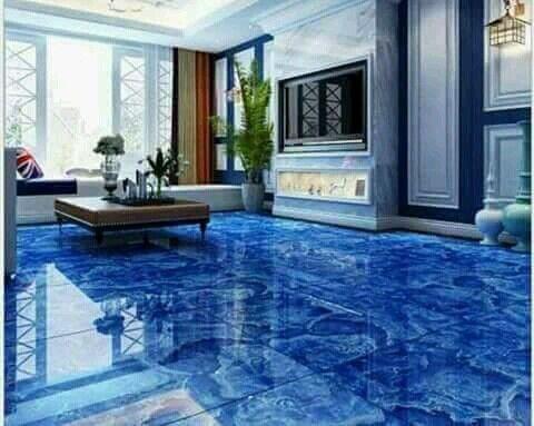 Amazing Floor Art Tiles Design For Hall