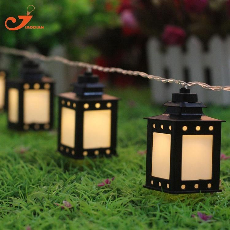 Black White Lantern Light Summer Patio String Lights Fairy Holiday 10led Christmas Garden Lighting Battery Ed 3v Aa Indoor Yesterday S Price Us 9 95