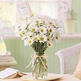 Mason jar flower arrangement fall flower arrangements for for How to arrange flowers in mason jar