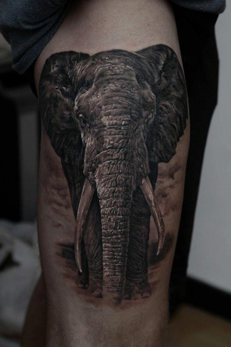 elefanten tattoo tattoos tattoo elefanten elefanten. Black Bedroom Furniture Sets. Home Design Ideas