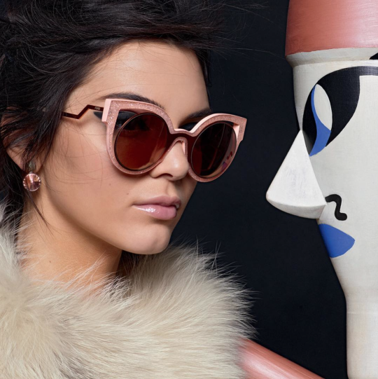 7e2030c0cdc Kendall and Kylie Winter Sunglasses