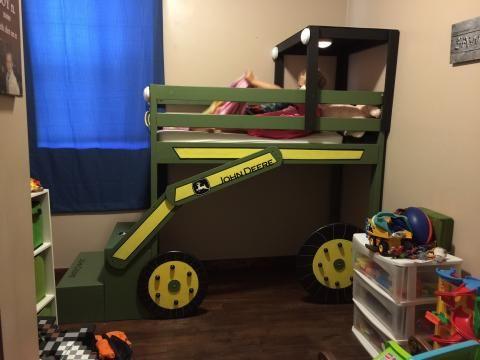 John Deere Toddler Loft Bed Bed Pinterest Toddler Loft Beds