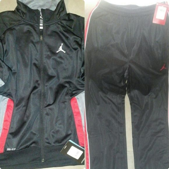Jordan Jumpman Dri-Fit Jacket/Jordan Track Pants Jordan Jumpman Dri-Fit Jacket/Jordan Jumpman Track Pants/jumpsuit Youth Apparel(Boys Ages 12-13). 2 Piece set. Never worn, brand new; comes with tags. Jordan Jackets & Coats