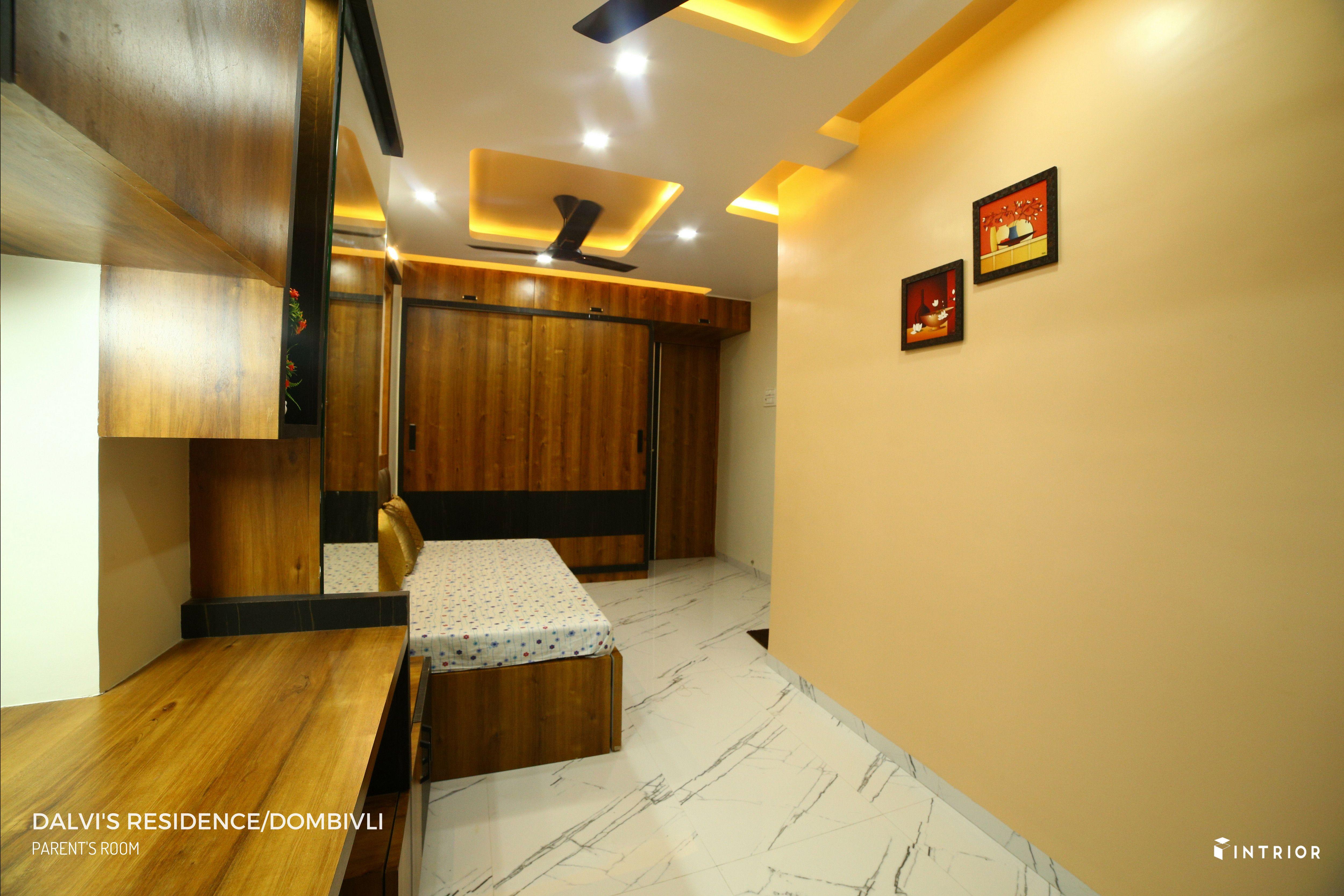 Parent S Room Design At Dombivli Thane Interior Design