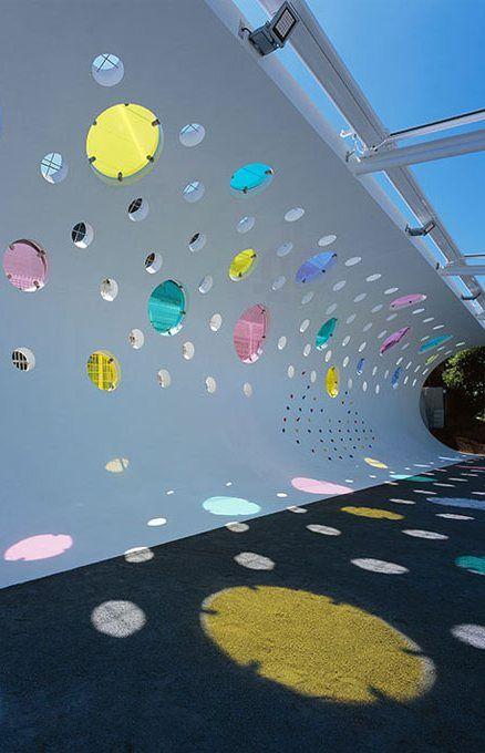 Kinder Garden: Playground For Machida Kobato Kindergarten, Tokyo, Japan