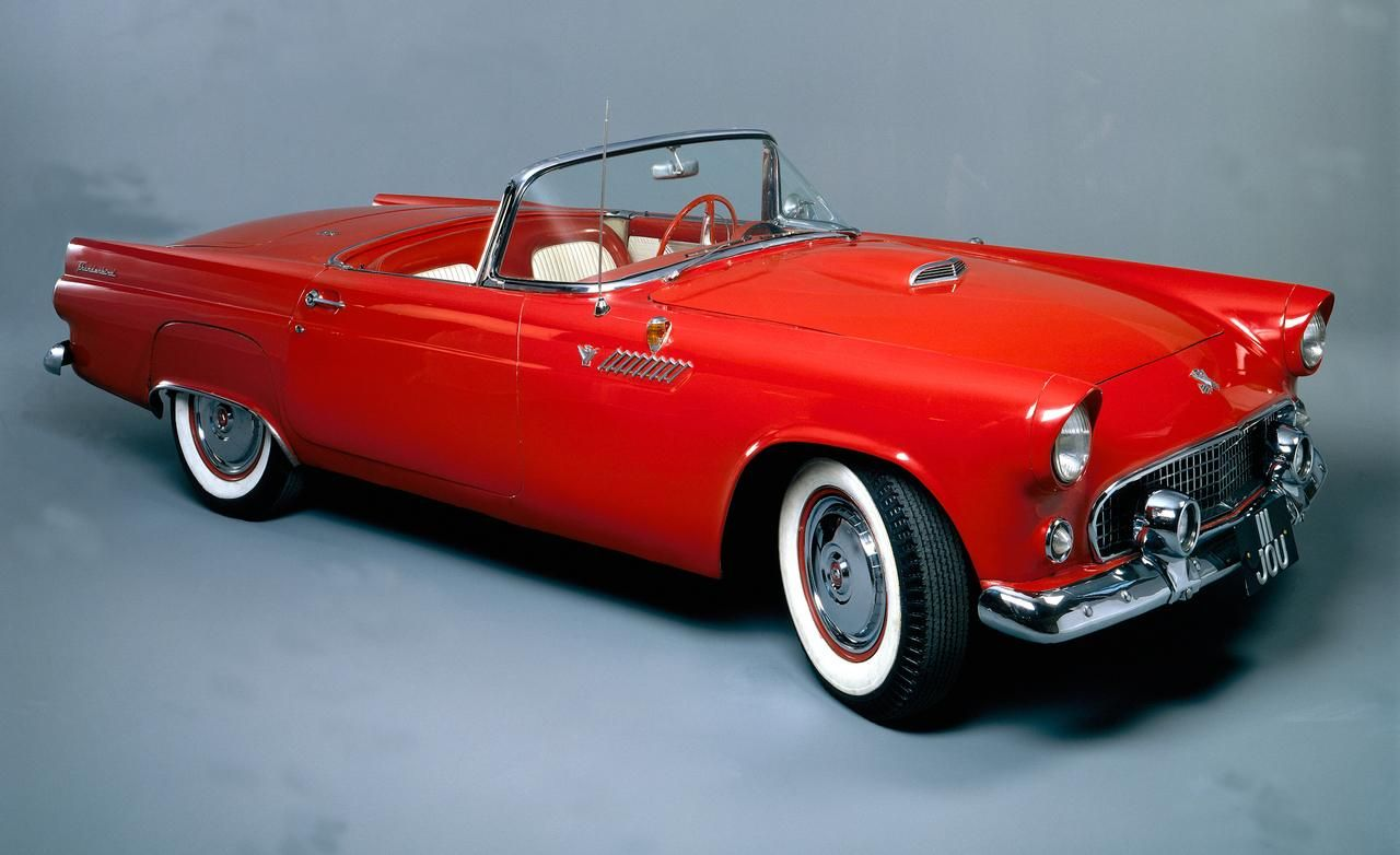 1955 Ford Thunderbird 292 Convertible Ford Thunderbird Classic