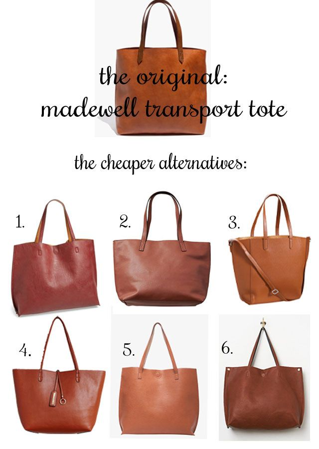 Cheap Alternatives To Madewell Transport Tote