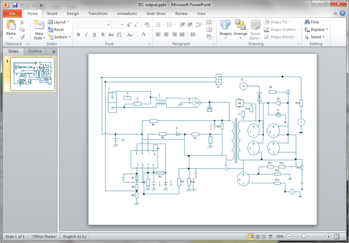 Create Circuit Diagram For Ppt Circuit Diagram Diagram Microsoft Powerpoint