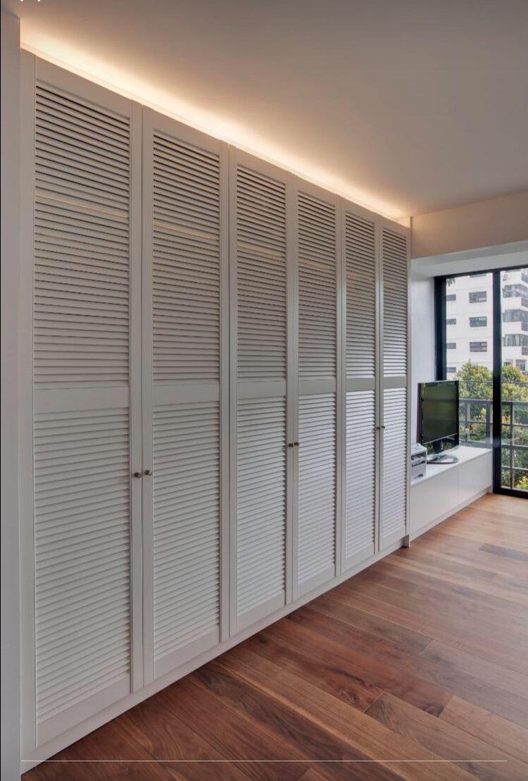 Louvre wardrobe? Is it hard to clean! | Home - bedroom | Pinterest