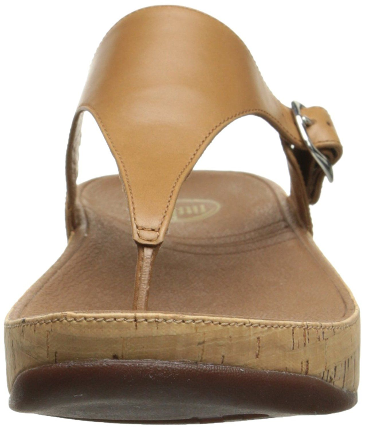 94c2de634 FitFlop Women s The Skinny Cork Leather Flip Flop    Click image to review  more details