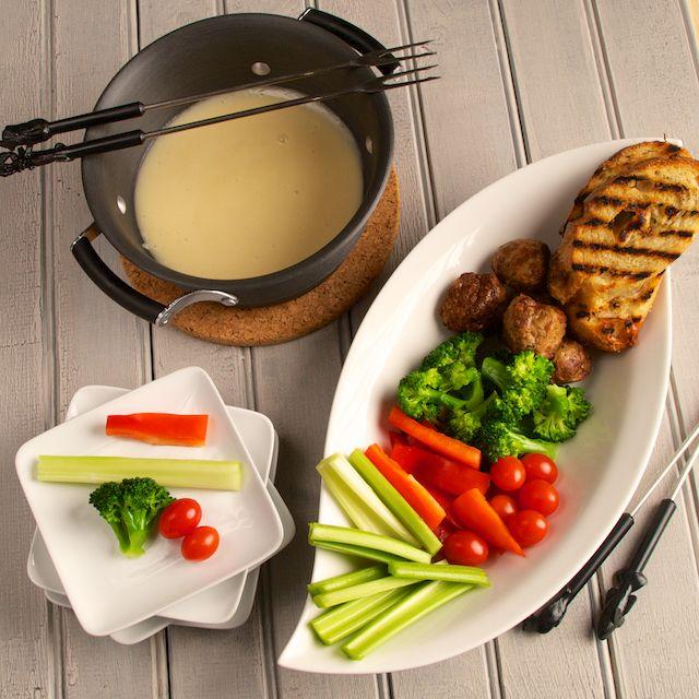 k sefondue beilagen 2 leichte rezepte f r salat als frische erg nzung rezepte fondue. Black Bedroom Furniture Sets. Home Design Ideas