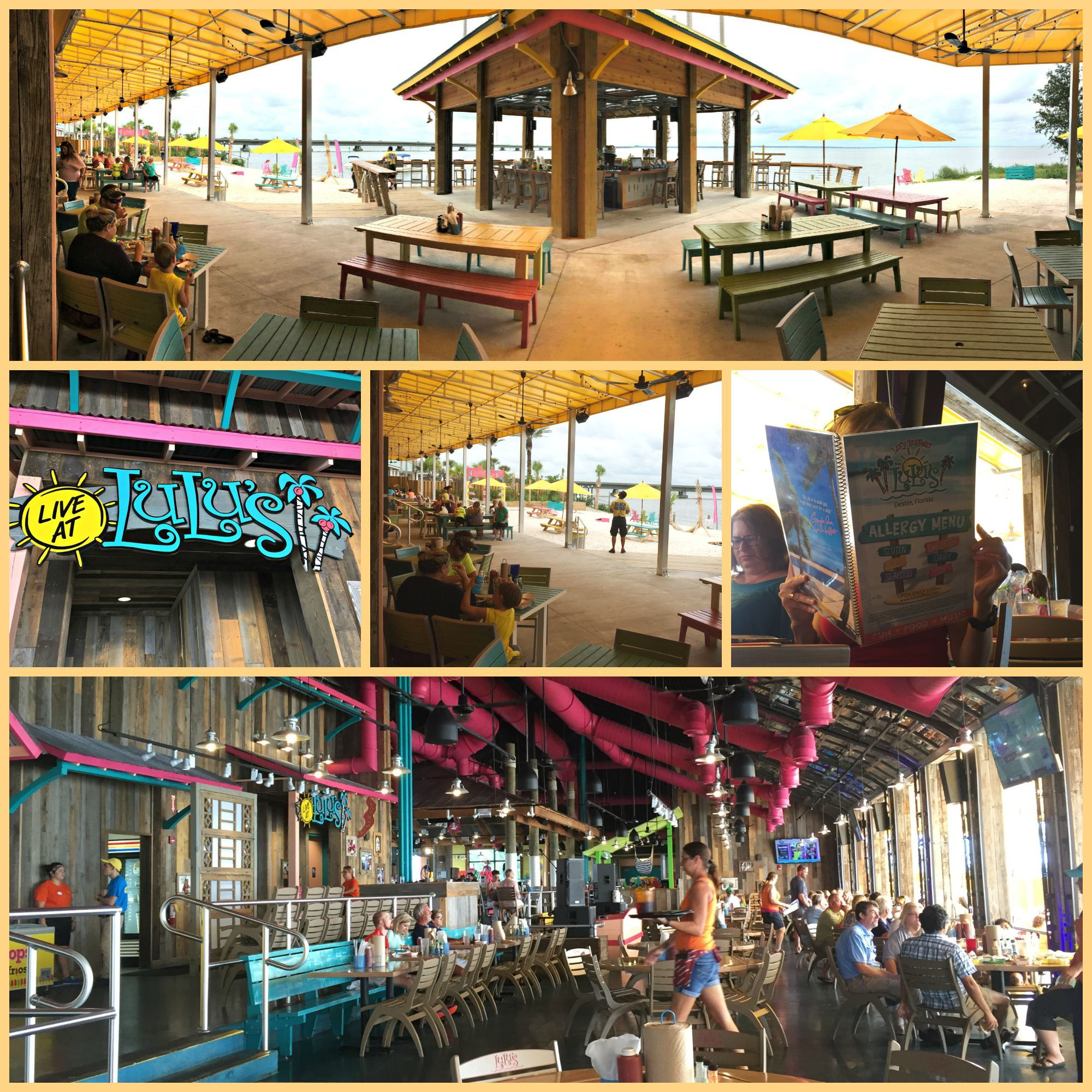 Lulu S Destin Fl Is A Family Restaurant And Entertainment Destination Live Music Splashing In The Fountain Of Youth Volleyball Nets Are Just Small