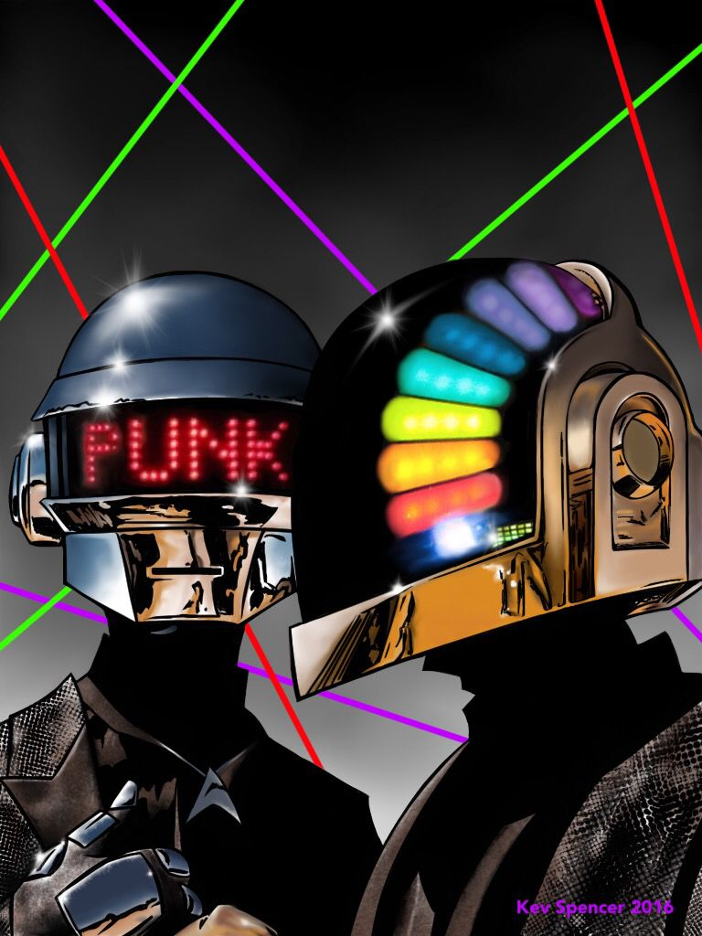 Daft Punk -Kev Spencer