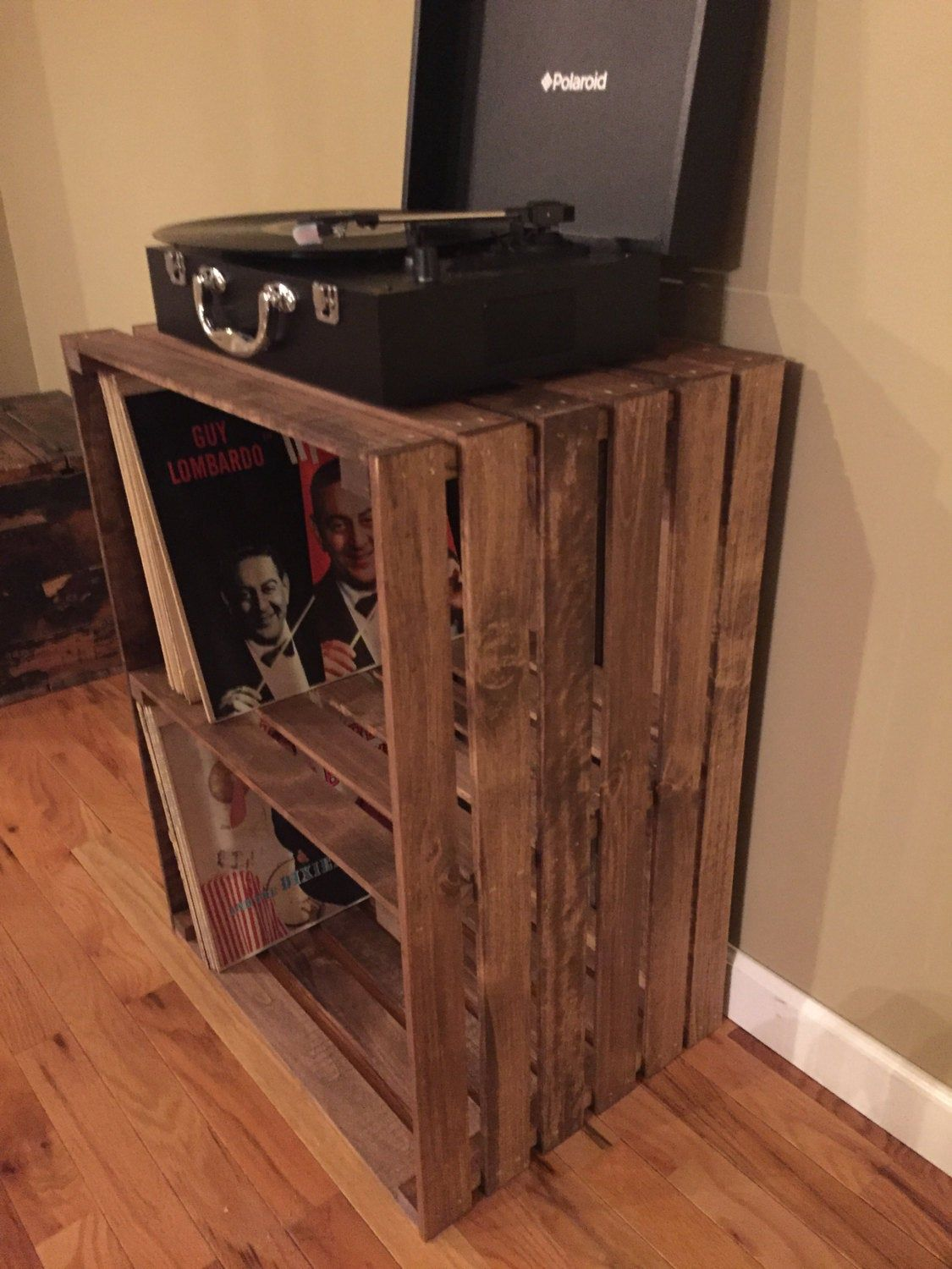 Turntable Stand in 2020 Diy projects, Turntable, Storage