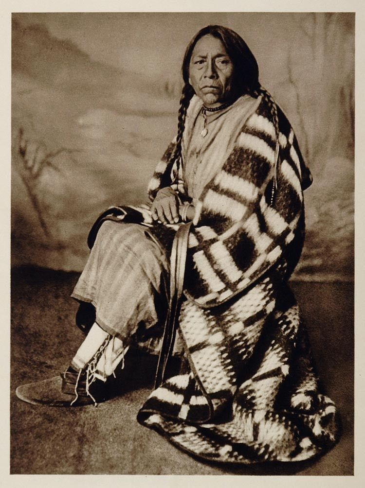 1926 Cree Indian Woman Maple Creek Saskatchewan Canada - ORIGINAL CANADA