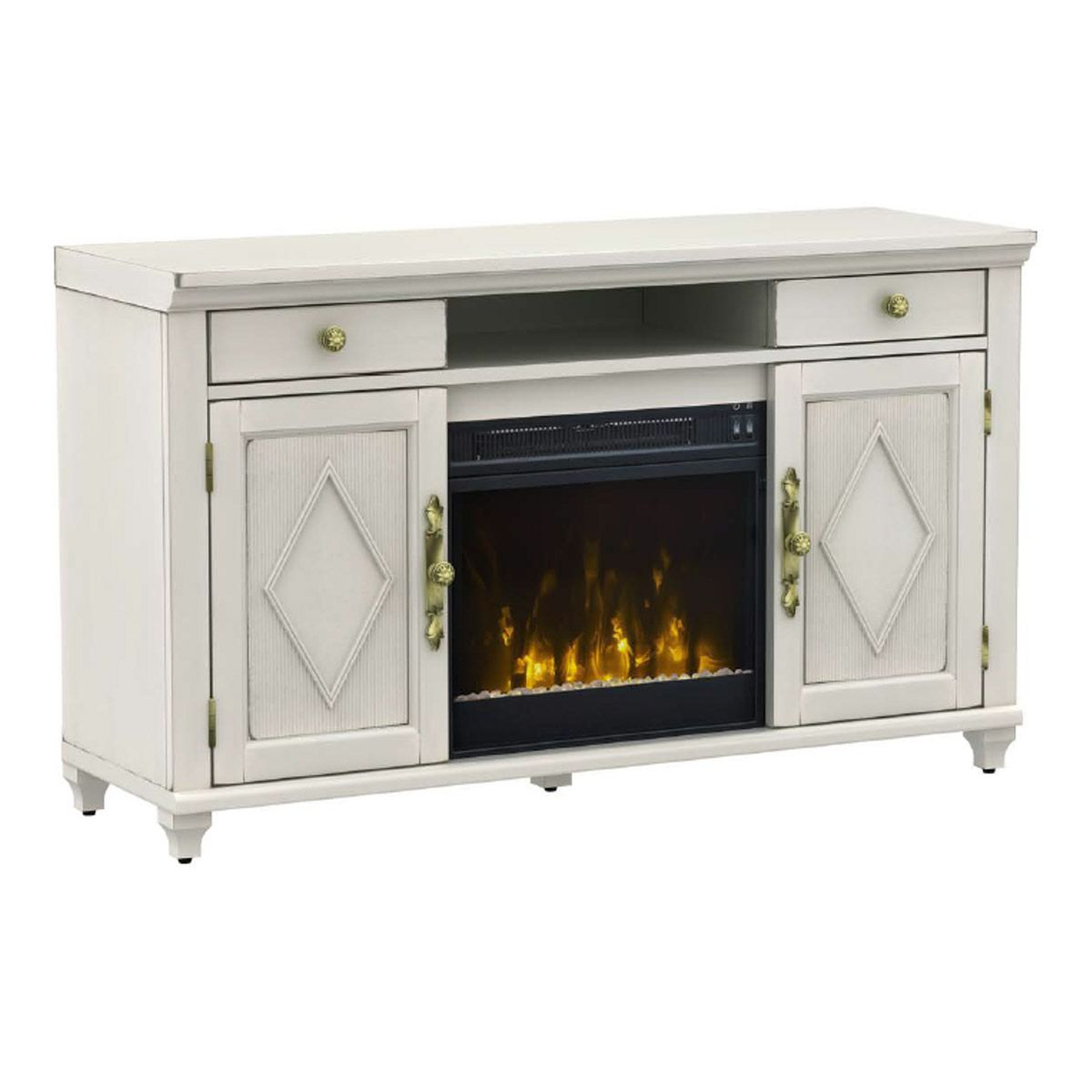 TV Stand with ClassicFlame® Electric Fireplace 18MM7541-H438 – Twin ...