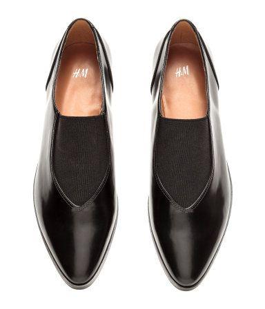 38565c74900 Sko med lav hæl | Sort | Dame | H&M DK | Galina ønskeliste - tøj ...