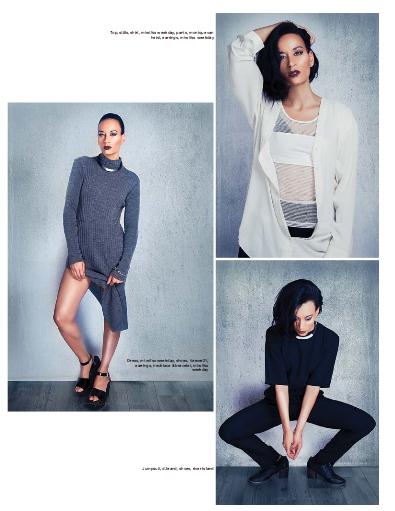Dbrand black jumpsuit - Solis magazine