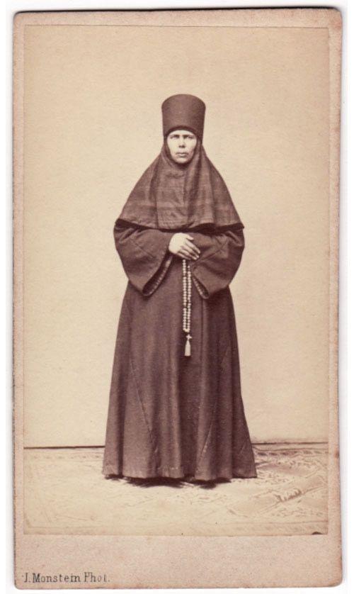 Russian nun, late 1800s