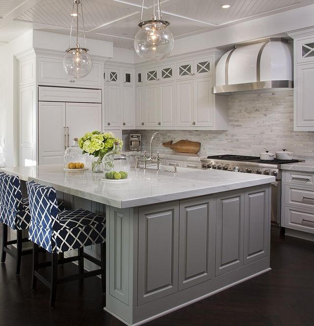 Grey Kitchen Island, Best Sherwin Williams Gray Color For Kitchen Cabinets