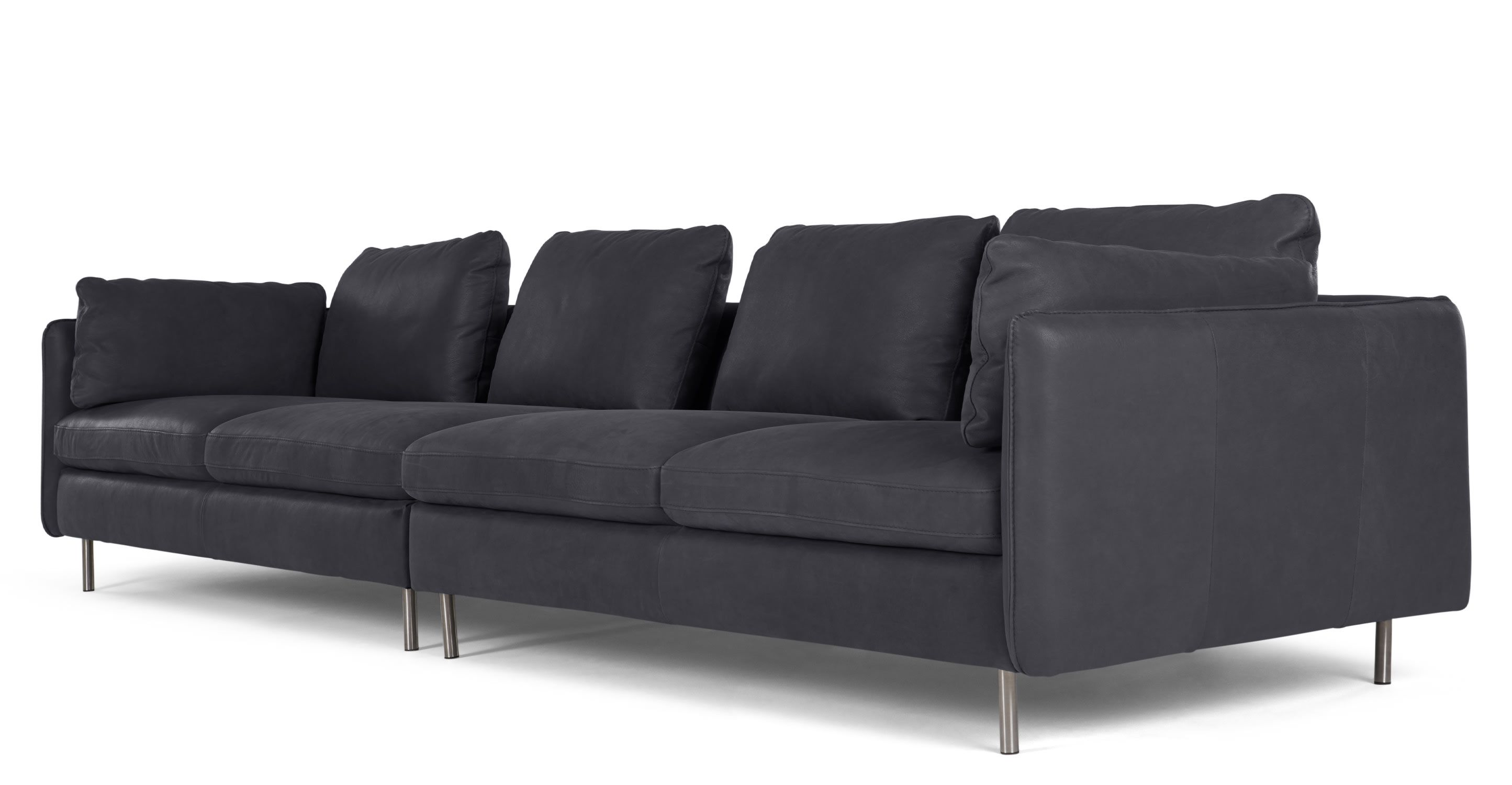 Mac leather 4 seater sofa living room pinterest leather sofas