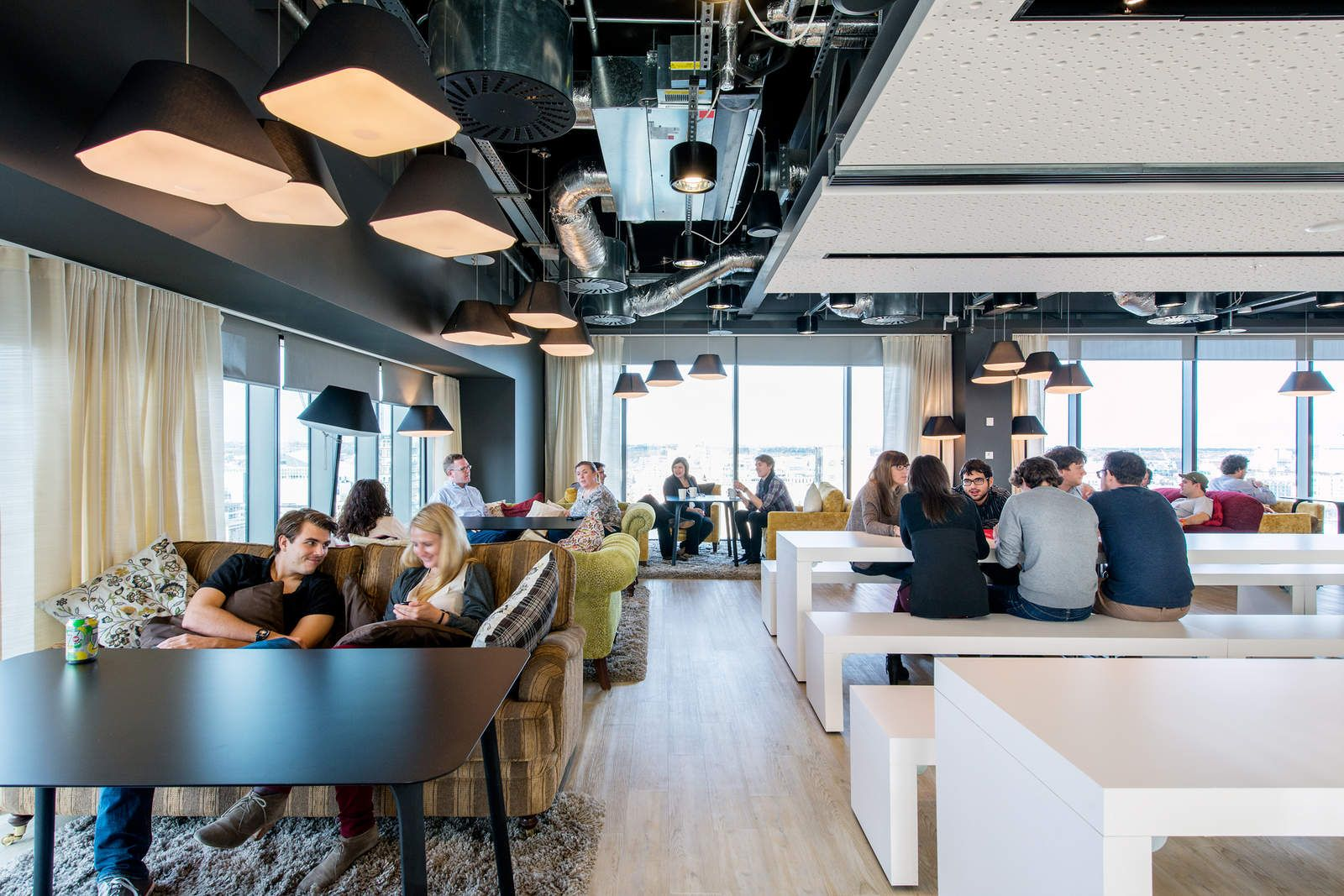 Google campus dublin google works home camenzind for Dublin interior design firm