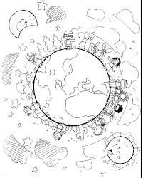 Children Around The World Coloring Page Missions Jesus Loves The