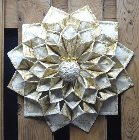 Www Fotoventasdigital Com Diy Burlap Wreath That Folding: Christmas Fold'n Stitch Wreath By CountryInspireCreate
