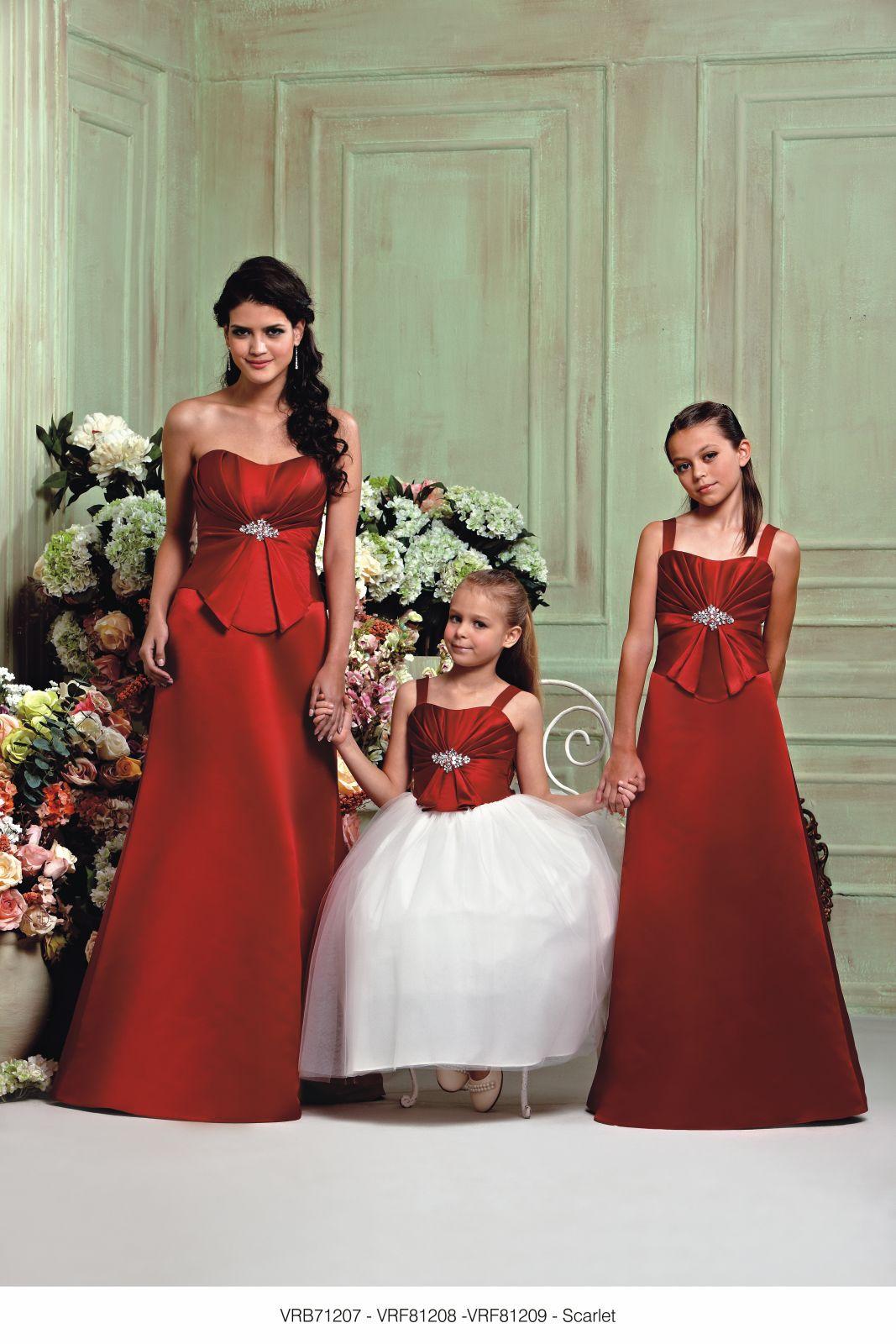 VRB71207/VRF81208/VRF81209 Scarlet from Veromia Bridesmaids