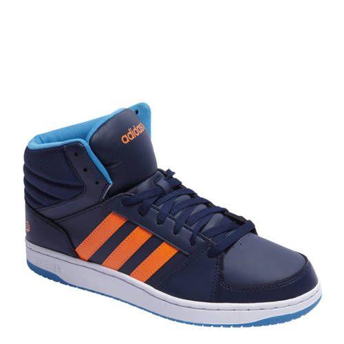 adidas neo heren blauw