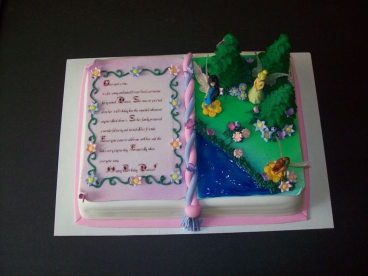 pinterest storybook cake ideas Storybook cake Cake Ideas