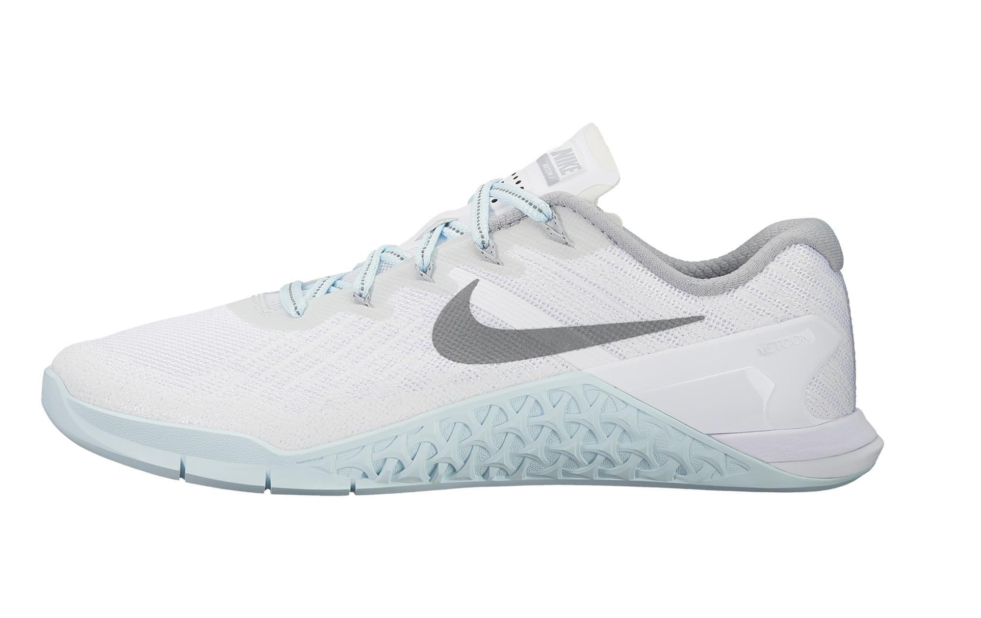 9d4cf5cc1039 Nike Metcon 3 - Women s - Reflective White   Silver   Glacier Blue ...
