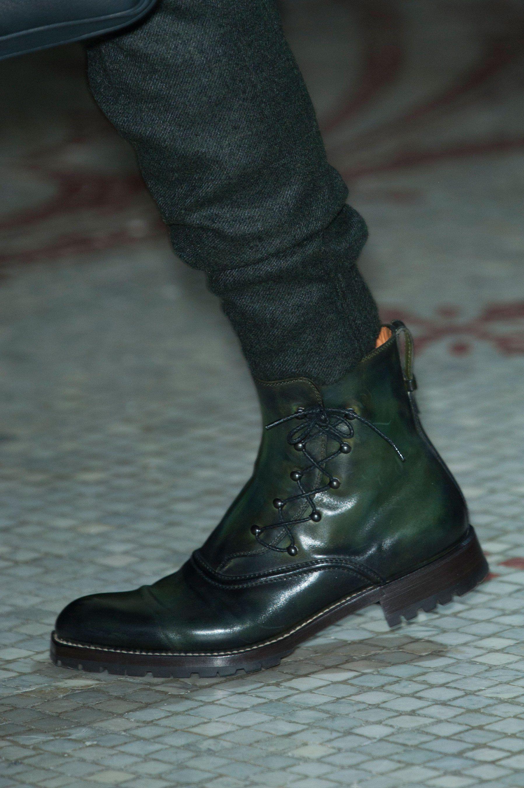 Detailed Photos Of Berluti Autumn Fall Winter 2015 Men S Shoe Boots Dress Shoes Men Mens Boots Fashion