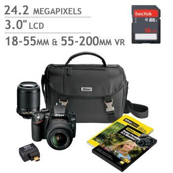 Costco: Nikon D3200 DSLR Camera 2 Lens Bundle | Wish List ...