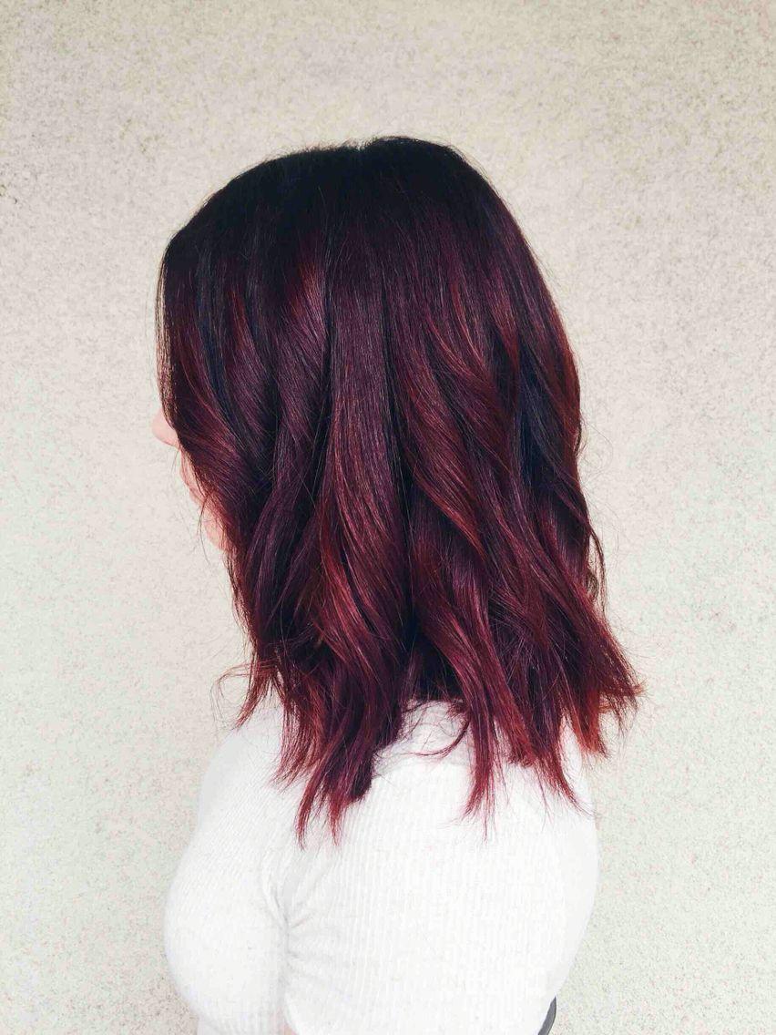 Cherry Coke Hair Color Hair Pinterest Cherry Coke