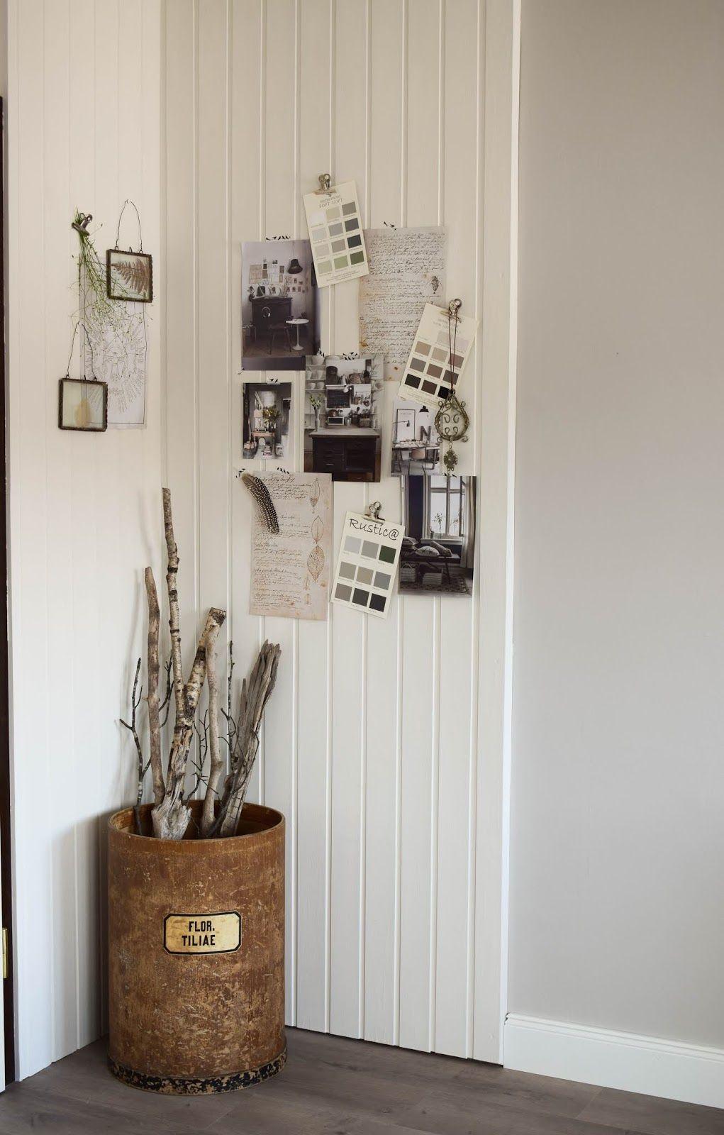 Wandverkleidung DIY aus Holz mit Nut und Federbretter Kreidefarbe ...
