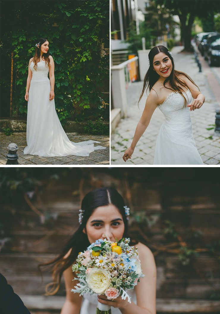 Istanbul Wedding Photography - Wedding At Giritli Restaurant
