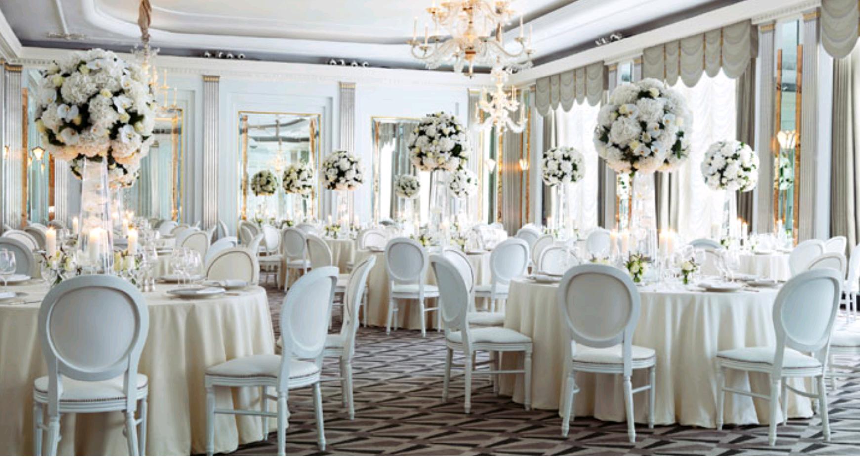 Wedding dinner decoration ideas  Classic but stunning  Luxury Weddings  Pinterest  Wedding venues