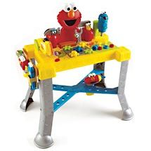 Love Our Elmo Sing N Giggle Tool Bench Great For Motor Skills And Introducing Safe Tool Handling Skills Like Don Tool Bench Kids Tool Bench Sesame Street Toys