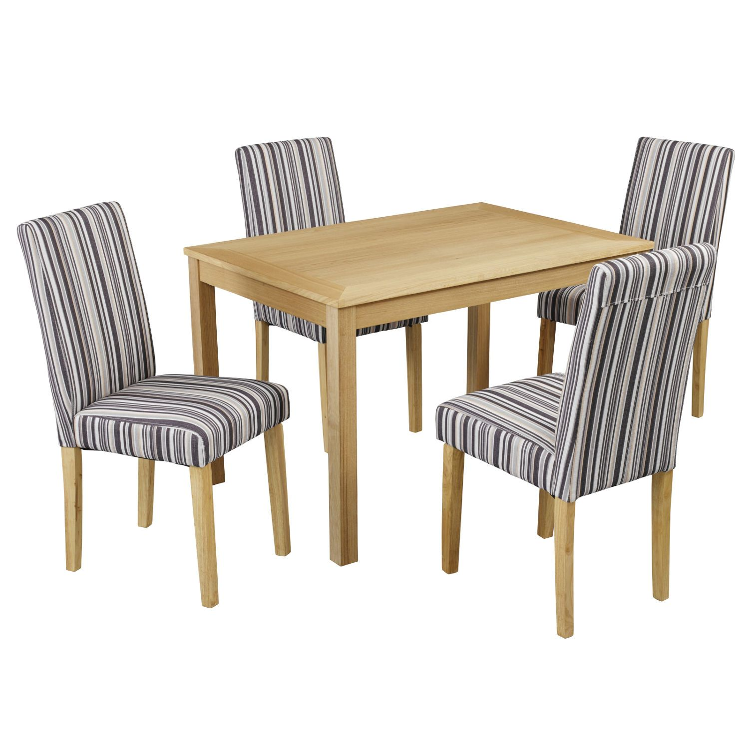 Oakridge Dining Set with 4 Lorenzo Chairs Only £242.99 On bedroomfurnitureworld.co.uk - http://bit.ly/1Kl4fKr #Furniture