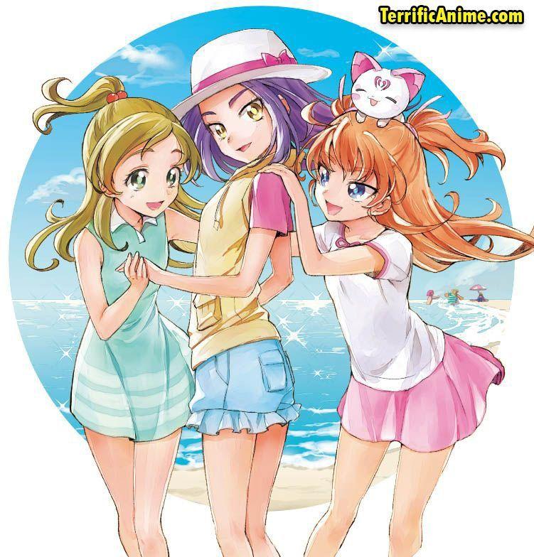 suite precure hibiki hojo kanade minamino ellen korukawa and hummy 可愛いアニメガール アニメの女の子 プリキュア イラスト