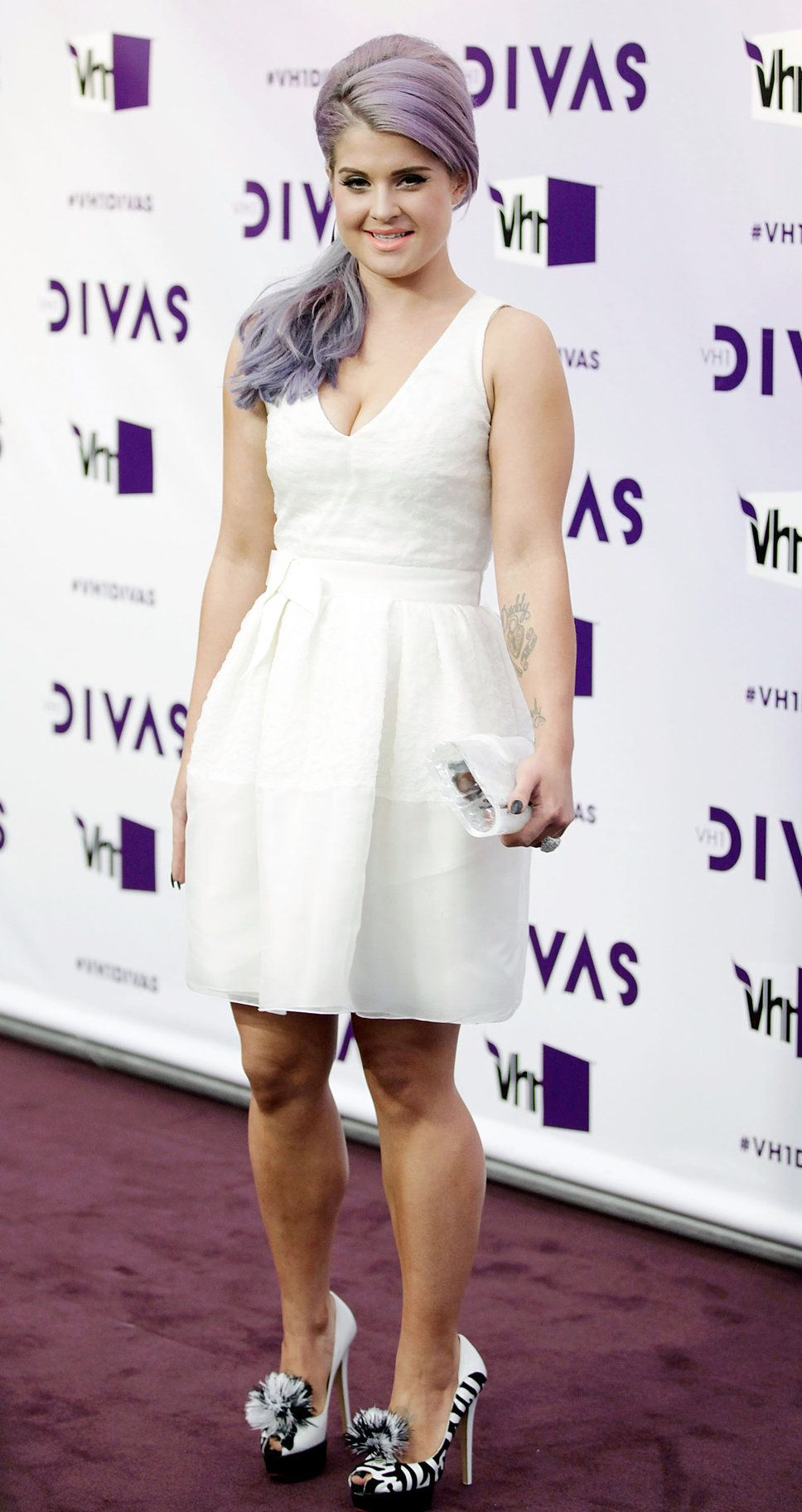 kelly osbourne purple hair how to get