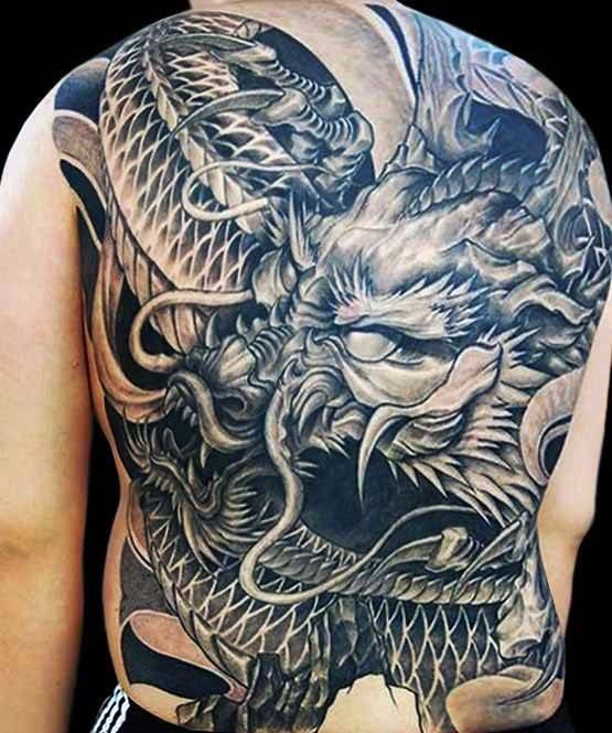 6861bffd7 90 Japanese Dragon Tattoo Designs For Men - Manly Ink Ideas ...