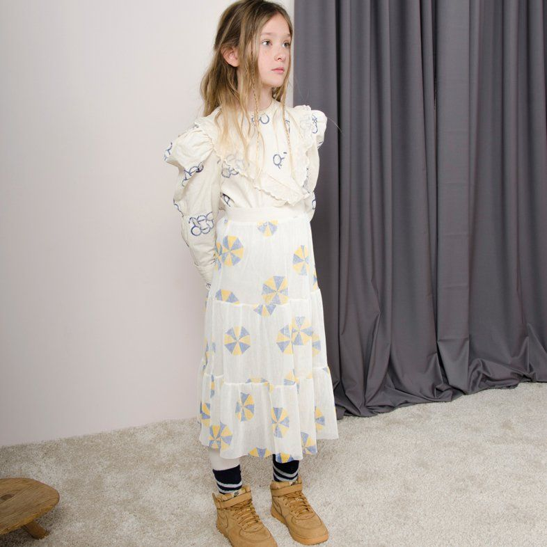 Shan and Toad - Luxury Kidswear Shop - The Animals Observatory Giraffe Umbrellas Skirt