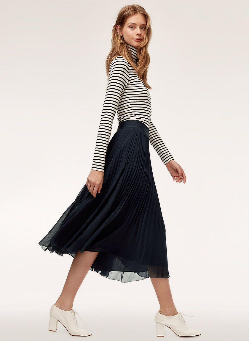 77258a0052 Terre skirt in 2019 | Style that i Love | Skirts, Pleated skirt ...